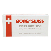 ESS Bones Swiss Skateboard Bearings - BONES, , medium