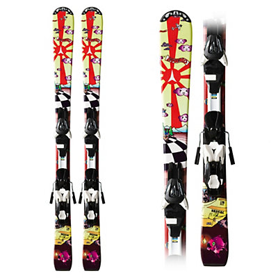 Atomic Rascal XTE 7 Kids Skis with XTE 7 Bindings, , large