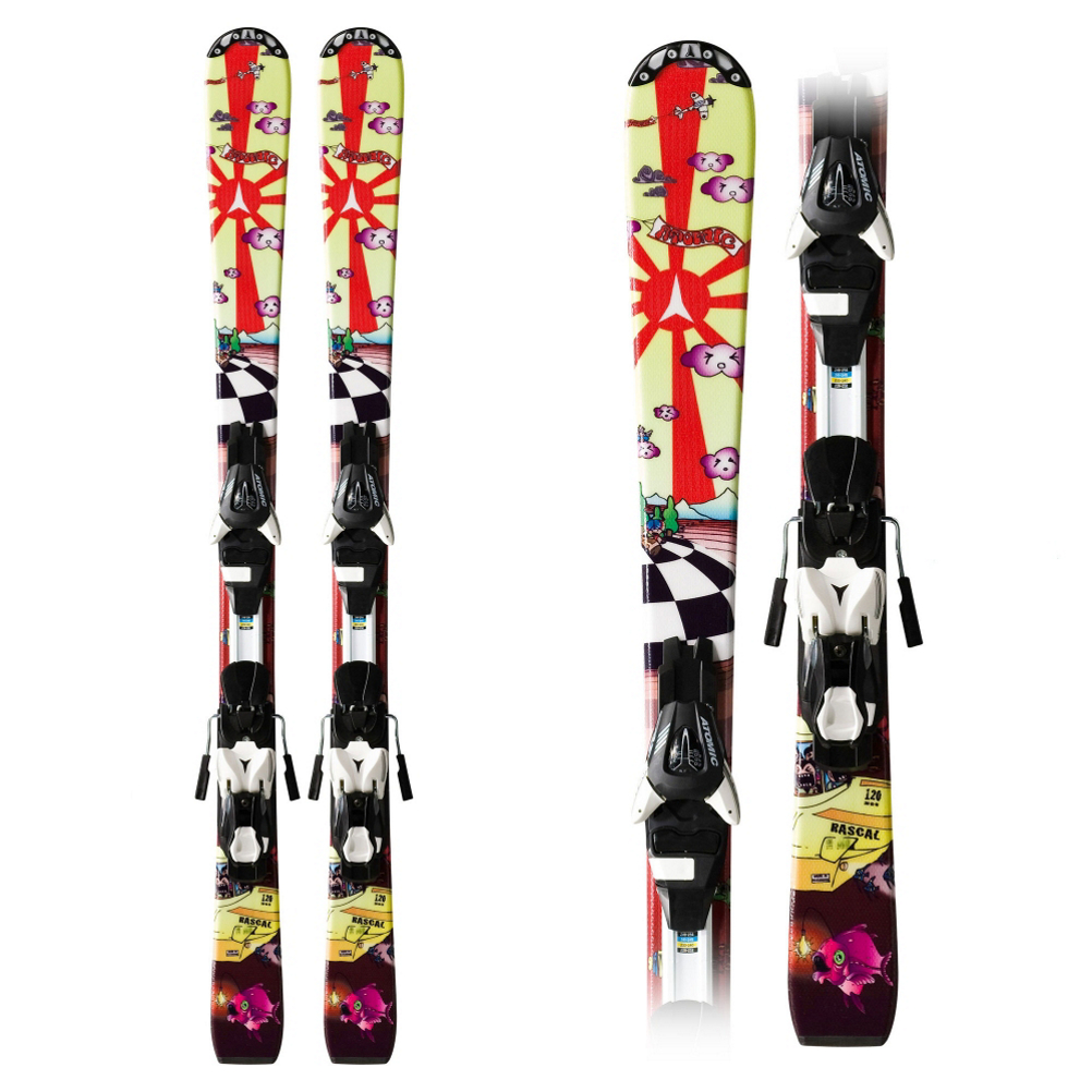 Atomic Rascal XTE 7 Kids Skis with XTE 7 Bindings
