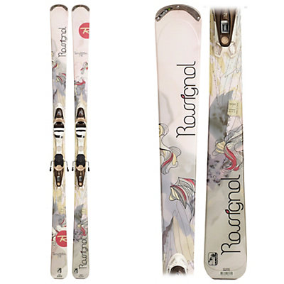 Rossignol Temptation 78 Womens Skis with WTPI2 Saphir 110 l Bindings, , large