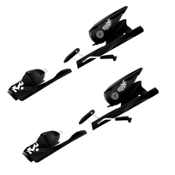 Rossignol Axium 110 XL Ski Bindings 2014, Black-White, medium