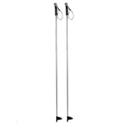 One Way Diamond 600 Exit Eva Cross Country Ski Poles, Silver-Red, medium