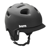 Bern G2 Audio Helmet, Matte Black, medium