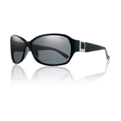 Smith Skyline Polarized Womens Sunglasses, Black, medium