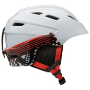 Giro Nine.10 Kids Helmet, White Logo Streak, medium