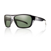 Smith Chief Polarized Sunglasses, Black, medium