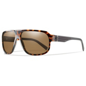 Smith Gibson Polarized Sunglasses, Havana, medium