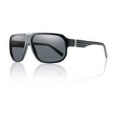 Smith Gibson Polarized Sunglasses, Matte Black, medium