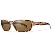 Smith HeyDay Polarized Womens Sunglasses, Vintage Tortoise, medium