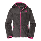 The North Face Oso Hoodie Girls Jacket, Graphite Grey, medium