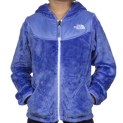 The North Face Oso Hoodie Girls Jacket, Dynasty Blue, medium
