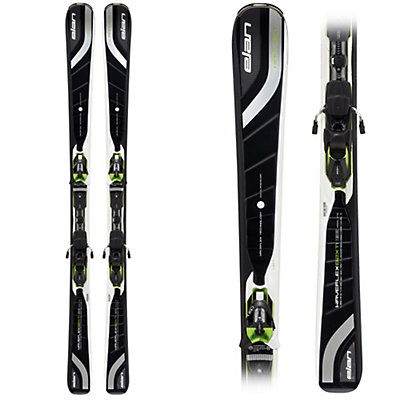 Elan Amphibio Waveflex 82 XTI Skis with ELX 12.0 Fusion Bindings, , large