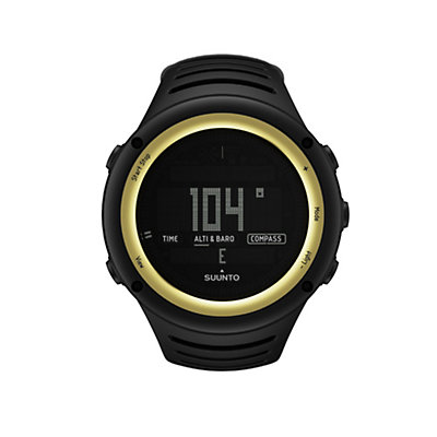 Suunto Core Digital Sport Watch, Sahara Yellow, viewer