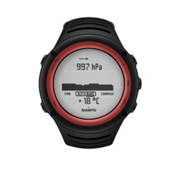 Suunto Core Digital Sport Watch, Lava Red, medium
