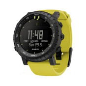 Suunto Core Digital Sport Watch, Yellow Crush, medium