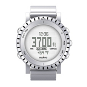 Suunto Core Aluminum Digital Sports Watch, Pure White, medium