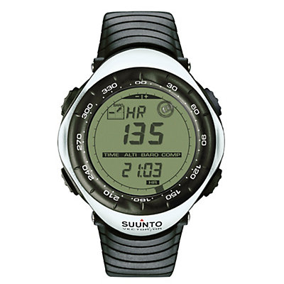 Suunto Vector HR Digital Sport Watch, White, large