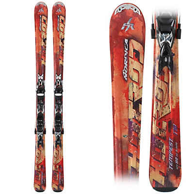 Nordica Hot Rod Tempest XBi CT Skis with EXP 2S Xbi CT WB Bindings, , viewer