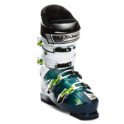 Lange Blaster 80 Ski Boots, Transparent Blue-White, medium