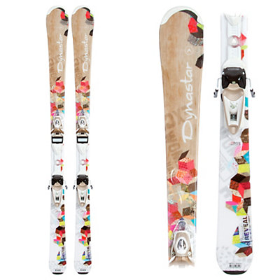 Dynastar Exclusive Reveal Womens Skis with Nova Exclusive AFC Fluid Bindings, , large