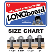 Shorty's Longboard Hardware, , medium