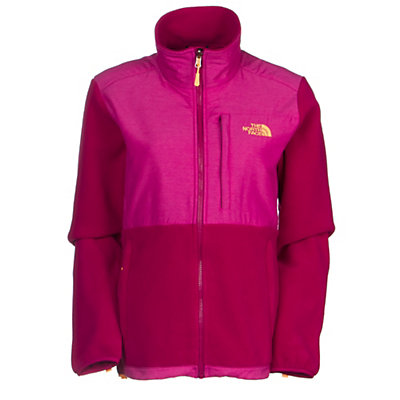 The North Face Denali Fleece Womens Jacket, Recycled TNF Black, viewer