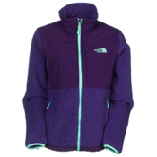 The North Face Denali Fleece Womens Jacket, Recycled Garnet Purple Heather, medium