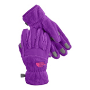 The North Face Denali Thermal Girls Gloves, Pixie Purple, medium