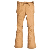 The North Face Shawty Womens Ski Pants, Royal Tan, medium