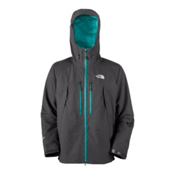 The North Face Mountain Guide Mens Shell Ski Jacket, Asphalt Grey, medium
