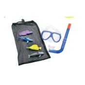Leader Water Fun Kids Snorkel Combo, , medium