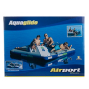 Aquaglide Airport Classic Inflatable Raft, Grey, medium