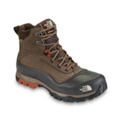 The North Face Snow-Chute Mens Boots, Cub Brown-Bombay Orange, medium