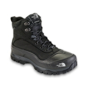 The North Face Snow-Chute Mens Boots, Black-Zinc Grey, medium