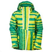 The North Face Special Effects Womens Insulated Ski Jacket, Sulphur Spring Green, medium