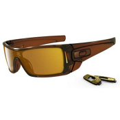 Oakley Batwolf Sunglasses, Rootbeer, medium