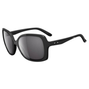 Oakley Beckon Womens Sunglasses, Polished Black, medium