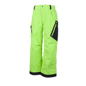 Obermeyer Pike O Kids Ski Pants, Phosphorus, medium