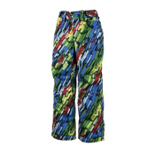 Obermeyer Ketza Kids Ski Pants, Neon Lights Print, medium