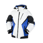 Obermeyer Clash ST Boys Ski Jacket, Galaxy Blue, medium