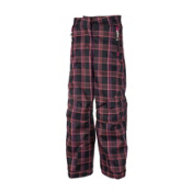 Obermeyer Brooke Pant P Girls Ski Pants, Fresh Air Plaid, medium