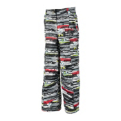 Obermeyer Twilight Eco Girls Ski Pants, Scribble Print, medium