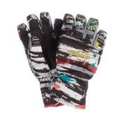 Obermeyer Alpine Girls Gloves, Girls Alt 3 Scribble Print, medium