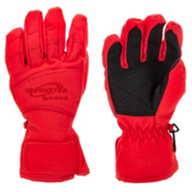 Obermeyer Alpine Girls Gloves, Poppy, medium