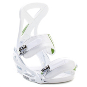 Burton Custom EST Snowboard Bindings, White, medium