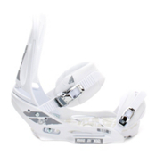 Burton Mission EST Snowboard Bindings, White, medium