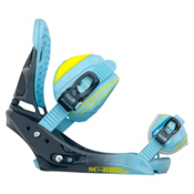 Burton Scribe EST Womens Snowboard Bindings, Blue Fade, medium