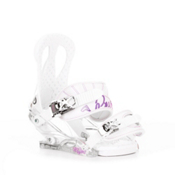Burton Citizen Womens Snowboard Bindings 2013, White, medium