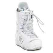 Burton Coco Womens Snowboard Boots, White-Silver, medium