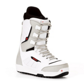 Burton Invader Snowboard Boots 2013, White-Black-Red, medium